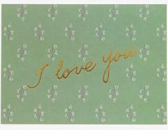DAC56 Tarjeta felicitacion mensaje I Love You Dailylike