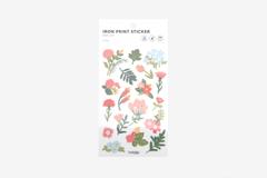DBE04 Pegatinas termoadhesivas para ropa flower Dailylike - Ítem