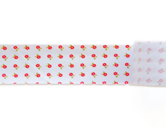 DBTR03 Cinta bies algodon red ribbon Dailylike