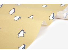 DDF429 DDF429-3 Tela aldogon penguin yellow espesor 20C Dailylike