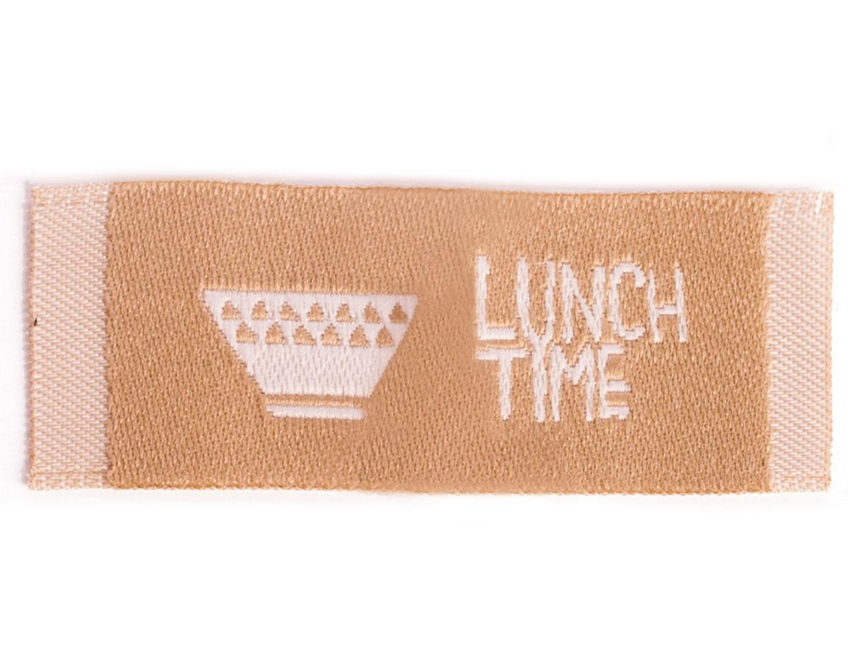 DDL13 Etiquetas algodon lunch time Dailylike