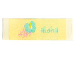 DDL19 Etiquetas poliester aloha Dailylike