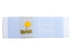 DDL22 Etiquetas poliester sweet flower Dailylike