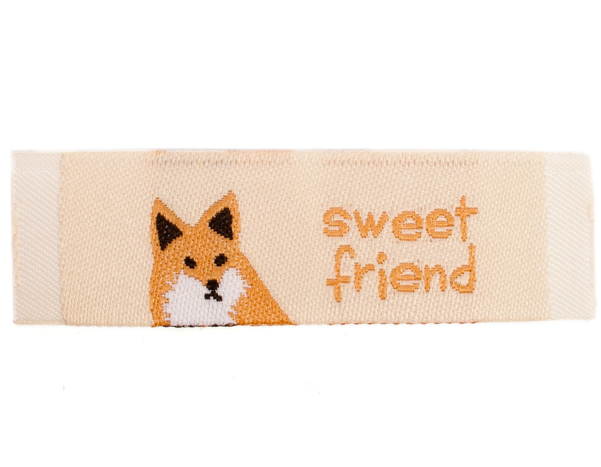 DDL23 Etiquetas poliester sweet friend Dailylike
