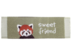 DDL24 Etiquetas poliester sweet friend 2 Dailylike