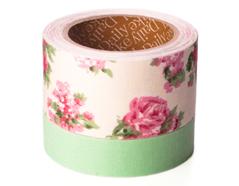 DFT2S03 Set 2 cintas adhesivas algodon greeny medidas y disenos surtidos Dailylike