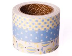 DFT3S15 Set 3 cintas adhesivas algodon voyage Dailylike