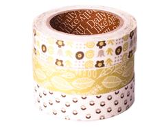 DFT3S16 Set 3 cintas adhesivas algodon seed Dailylike