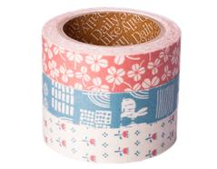 DFT3S18 Set 3 cintas adhesivas algodon alley Dailylike