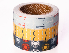 DFT3S21 Set 3 cintas adhesivas algodon sailing Dailylike