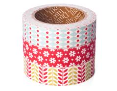 DFT3S24 Set 3 cintas adhesivas algodon daily Christmas Dailylike