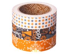 DFT3S25 Set 3 cintas adhesivas algodon holy night Dailylike