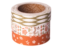 DFT3S30 Set 3 cintas adhesivas algodon my buddy Dailylike