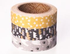 DFT3S37 Set 3 cintas adhesivas algodon white night Dailylike