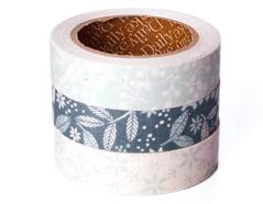 DFT3S38 Set 3 cintas adhesivas algodon frosty Dailylike
