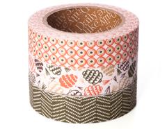 DFT3S39 Set 3 cintas adhesivas algodon pine Dailylike