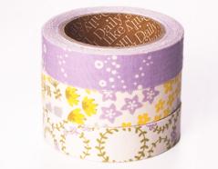 DFT3S43 Set 3 cintas adhesivas algodon wildflower Dailylike