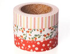 DFT3S45 Set 3 cintas adhesivas algodon strawberry Dailylike