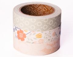 DFT3S46 Set 3 cintas adhesivas algodon wedding Dailylike