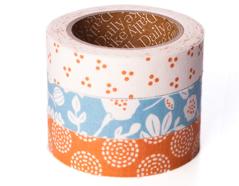 DFT3S47 Set 3 cintas adhesivas algodon beach Dailylike