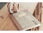 DFTF06 Cinta adhesiva algodon minimums brown Dailylike - Ítem3