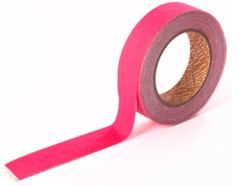 DFTO04 Cinta adhesiva algodon solid hot pink Dailylike