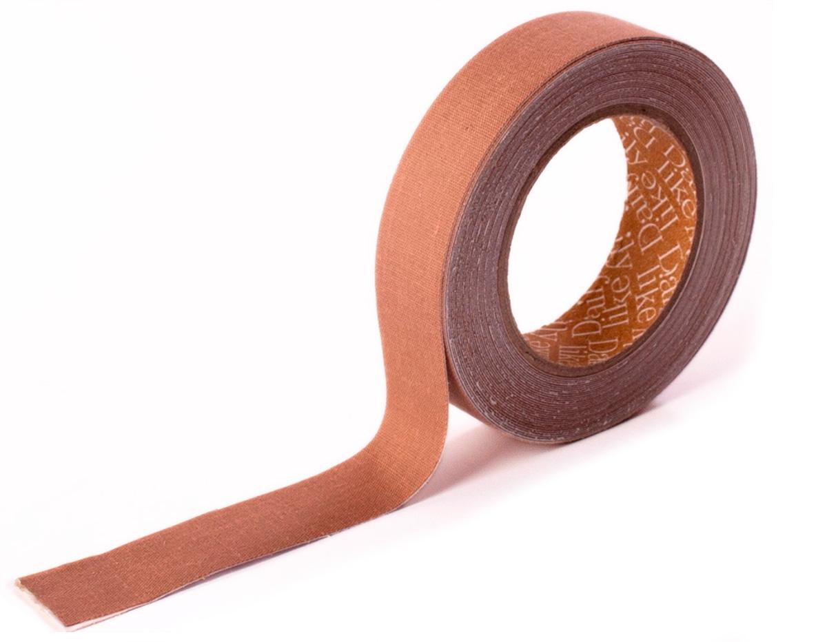 DFTO10 Cinta adhesiva algodon solid brown Dailylike