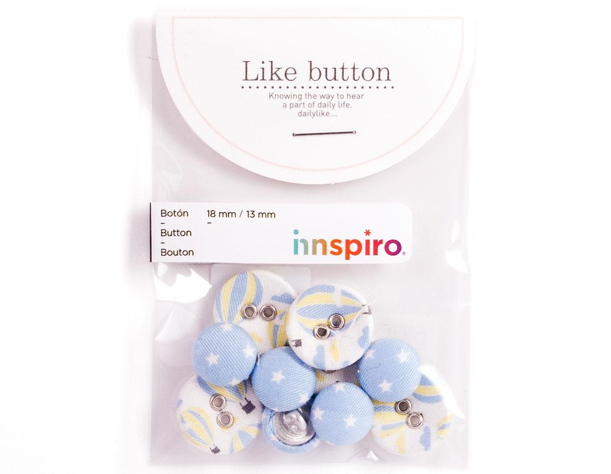 DLB10 Set 10 botones algodon voyage Dailylike