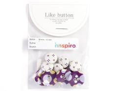 DLB14 Set 10 botones algodon lucid Dailylike