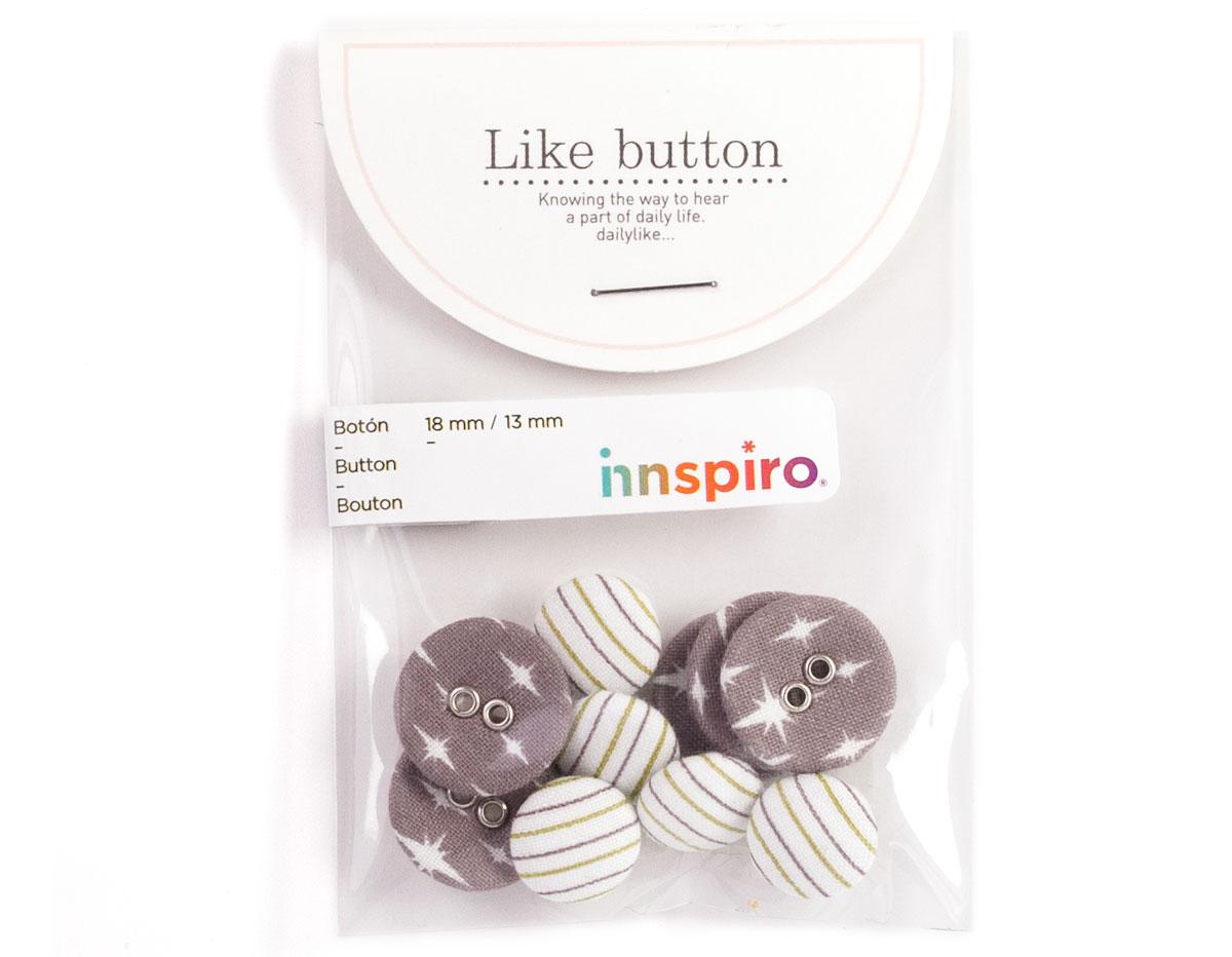 DLB21 Set 10 botones algodon celebrate Dailylike