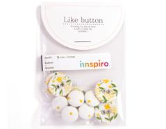 DLB42 Set 10 botones algodon petit Dailylike
