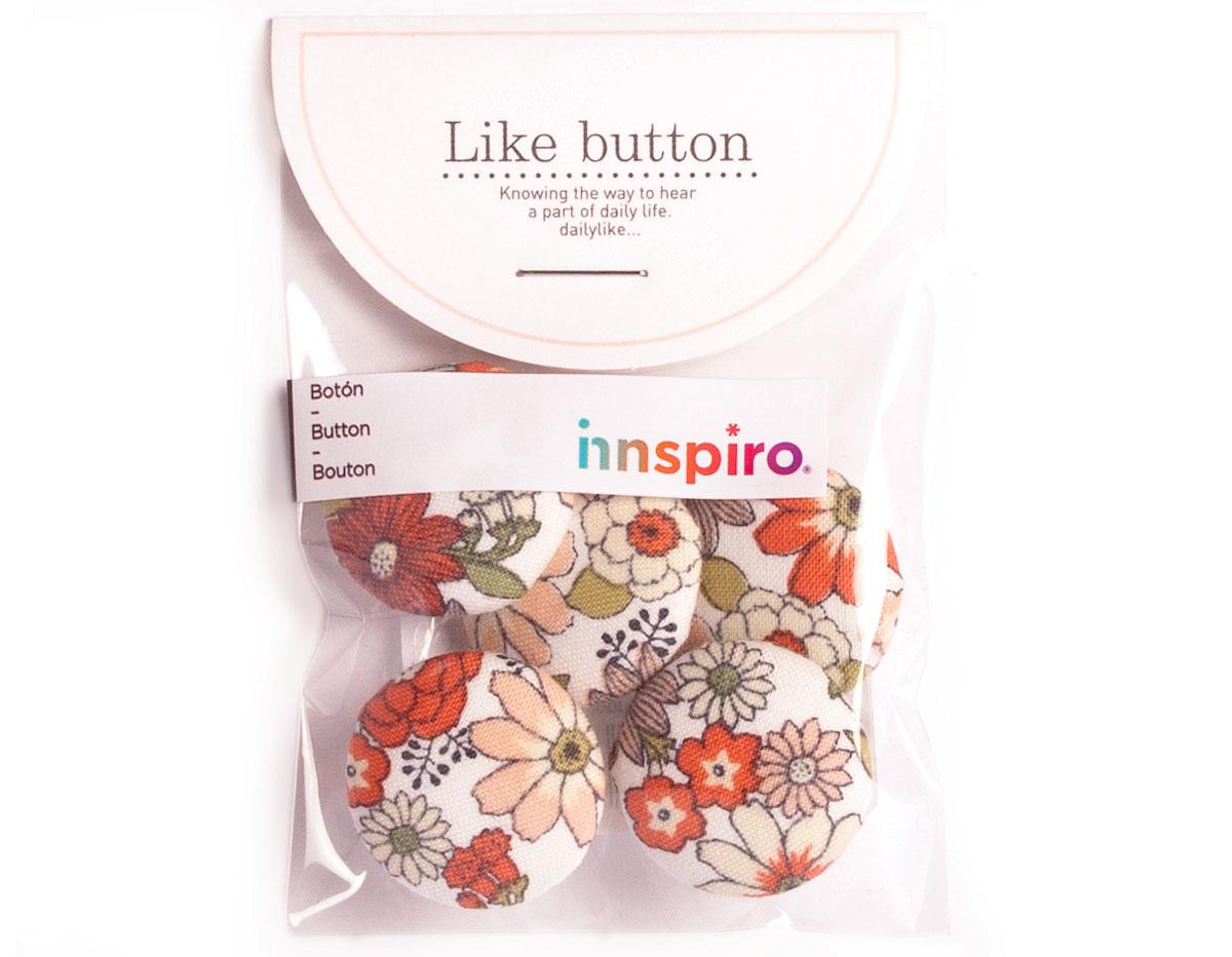 DLB50 Set 5 botones algodon garden surtidos Dailylike