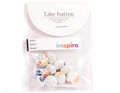 DLB51 Set 10 botones algodon bouquet surtidos Dailylike