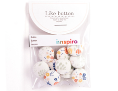 DLB52 Set 10 botones algodon bouquet surtidos Dailylike - Ítem