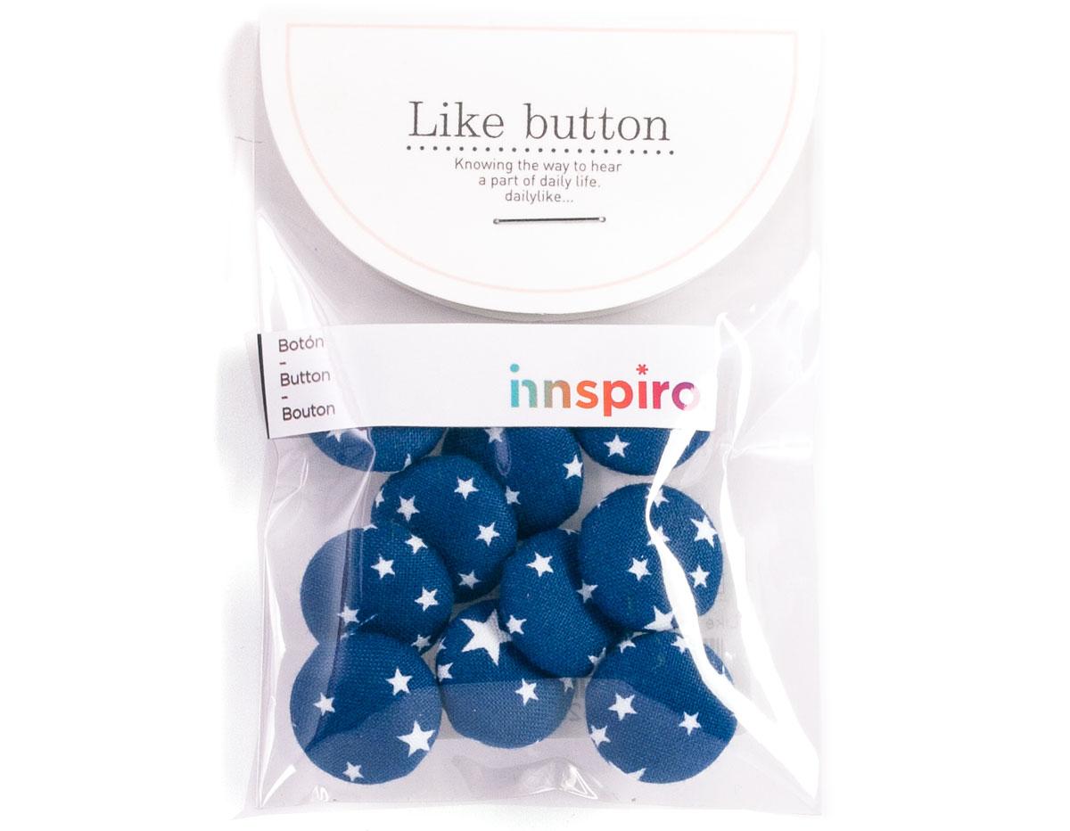 DLB55 Set 10 botones algodon starry surtidos Dailylike