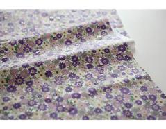 DLFO21 DLFO21-10 DLFO21-10-3 Tela algodon laminada garden purple Dailylike