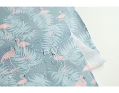 DLFO56 DLFO56-10 DLFO56-10-3 Tela algodon laminada charming flamingo Dailylike