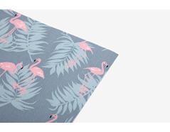 DLFS57 Hoja adhesiva algodon flamingo Dailylike