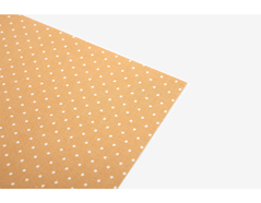 DLFS62 Hoja adhesiva algodon yellow dot Dailylike