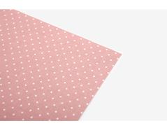 DLFS64 Hoja adhesiva algodon pink dot Dailylike