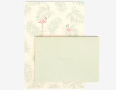 DLGAC05 Hojas de papel estampado para carta flamingo Dailylike