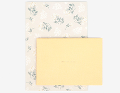 DLGAC09 Hojas de papel estampado para carta lace flower Dailylike
