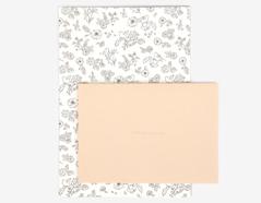 DLGAC10 Hojas de papel estampado para carta botanical Dailylike