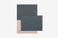 DLGAC13 Hojas de papel estampado para carta desert Dailylike