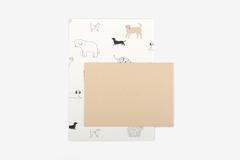 DLGAC15 Hojas de papel estampado para carta daily dog Dailylike