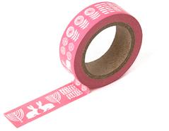 DMT1S01 Cinta adhesiva masking tape washi alley pink Dailylike