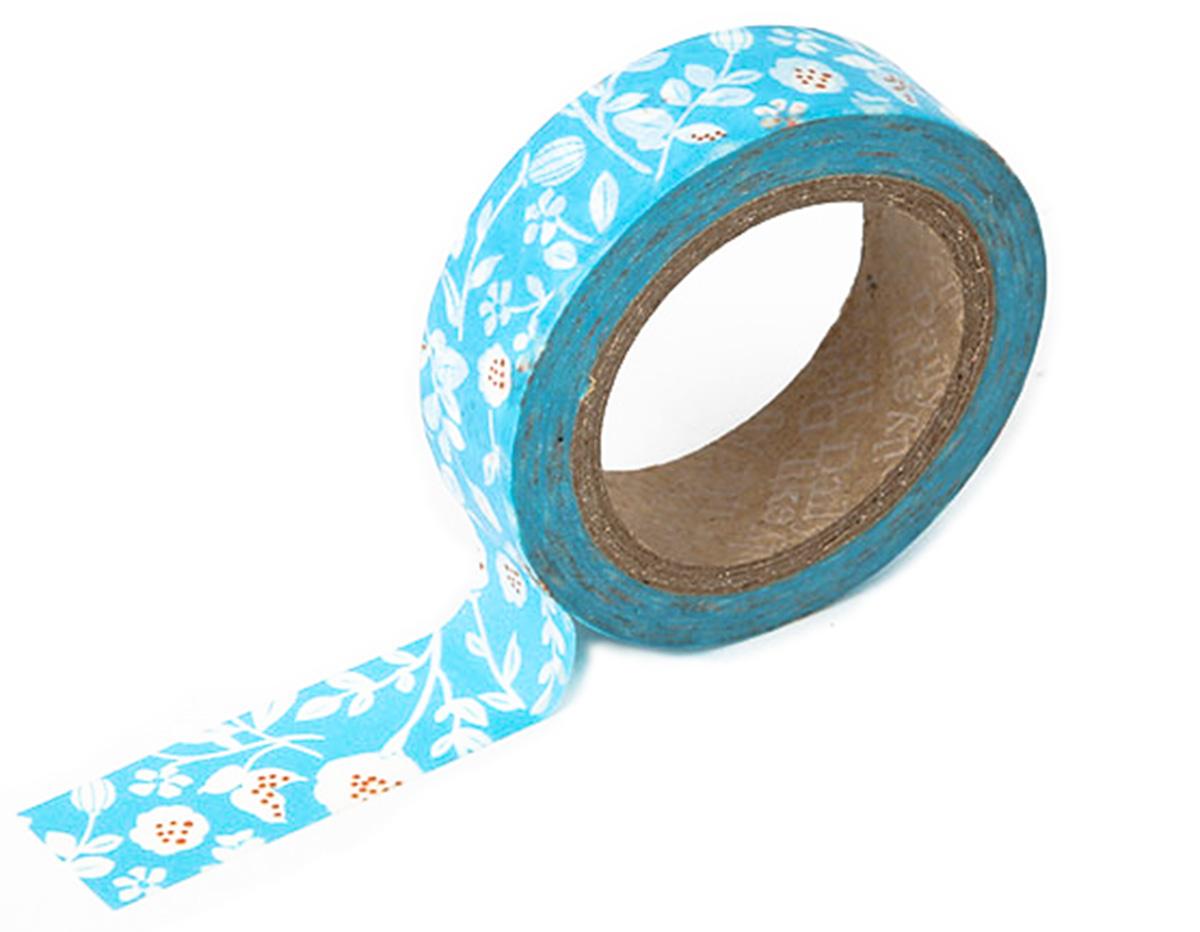 DMT1S03 Cinta adhesiva masking tape washi beach flower Dailylike