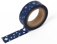 DMT1S04 Cinta adhesiva masking tape washi starry Dailylike