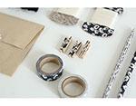 DMT1S07 Cinta adhesiva masking tape washi anemone Dailylike - Ítem3