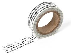DMT1S08 Cinta adhesiva masking tape washi letter Dailylike